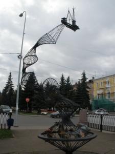 Рыбинск, современный памятник