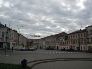 нетронутый купеческий городок