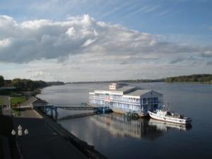 Старая пристань в Рыбинске