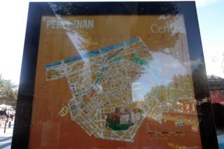 Перпиньян карта