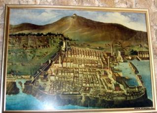 Старая карта Дубровника