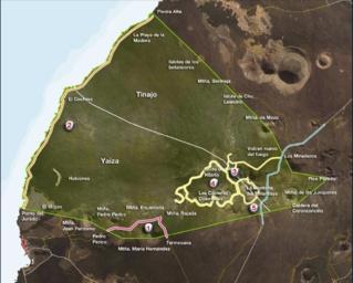 Карта маршрутов Тиманфайя