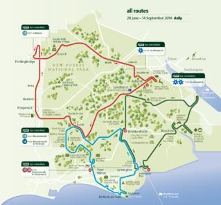 Маршрут движения автобуса (при клике откроется карта большого размера)