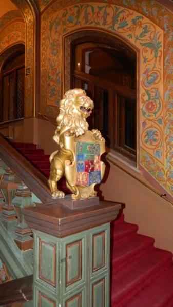 Львина лестница. Дворец Юсуповых в Москве