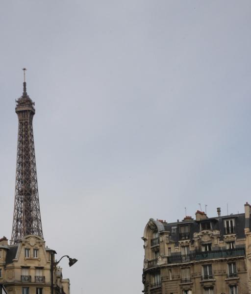 Первое знакомство с Эйфелевой башней