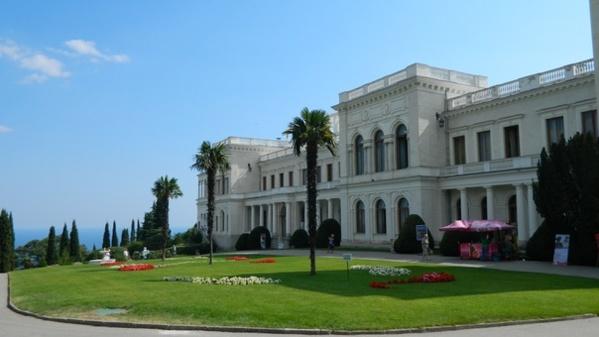 Дворец в Левадии