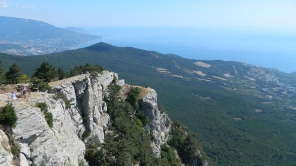 Гора Ай-петри, виды и пещеры