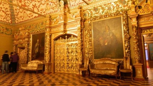 Тронный зал. Дворец Юсуповых в Москве