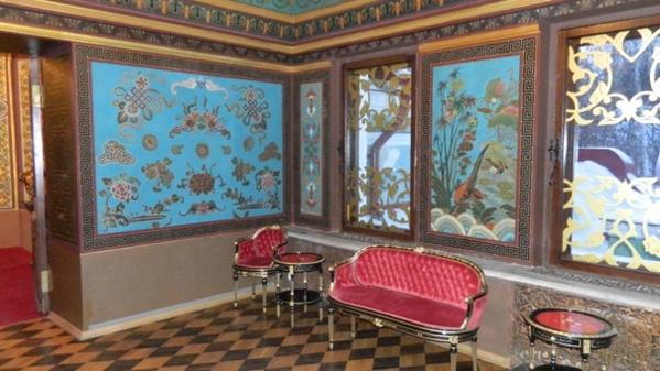 Китайский кабинет. Дворец Юсуповых в Москве