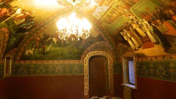 Охотничий зал. Дворец Юсуповых в Москве