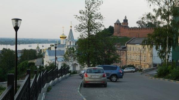 Вид на Ильинскую Церковь и Кремль