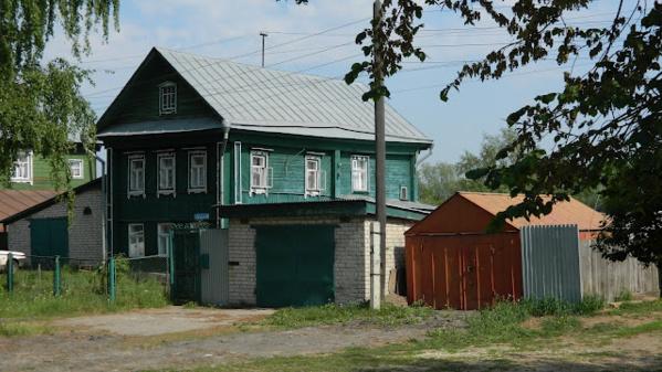 Деревянный дом Нижней части Нижнего