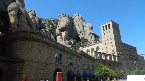 Монастырь на горе Монсерат