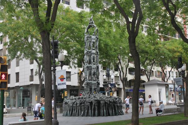 Испания. г.Тарагона. Памятник castellas