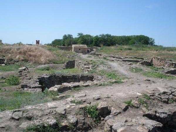 Раскопки древнегреческого города Танаис, Ростовская область