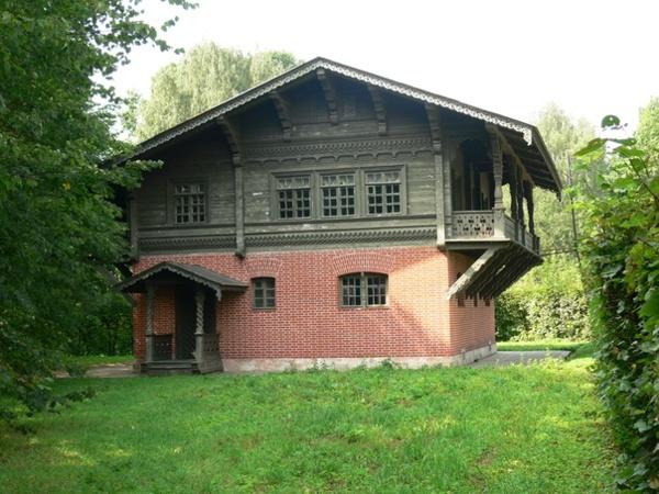 Швейцарский домик, Усадьба Кусково