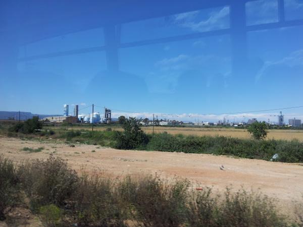 Нефтеперерабатывающий завод рядом с Салоу