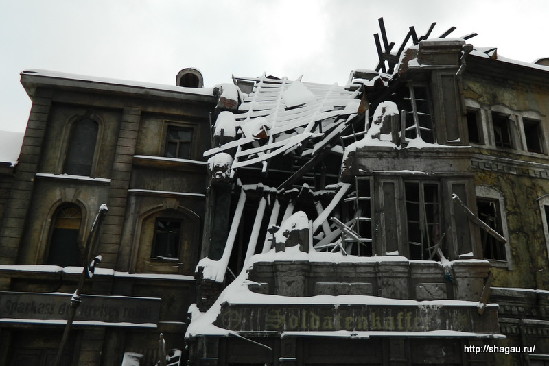 Съемочная площадка Мосфильма