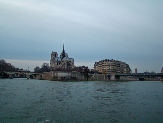Панорама на Нотер Дам де Пари