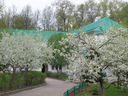 Весна в монастыре