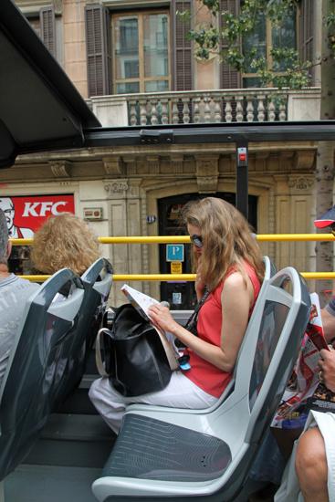 Изучаем карту на крыше Open Bus