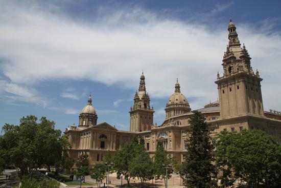 Национальный музей искуства. Барселона