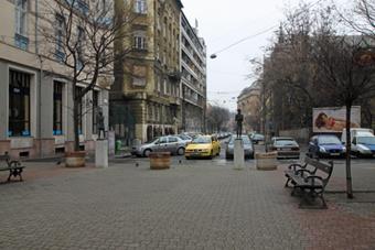 Улицы Буды в Будапеште
