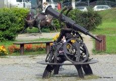 Телескоп в сквере Знаки зодиака в Свиблово