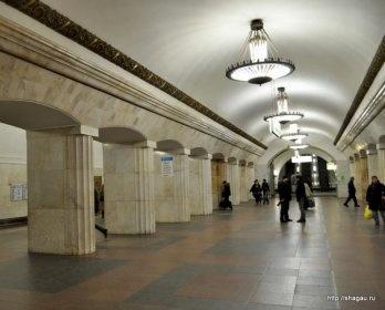 метро Курская кольцевая