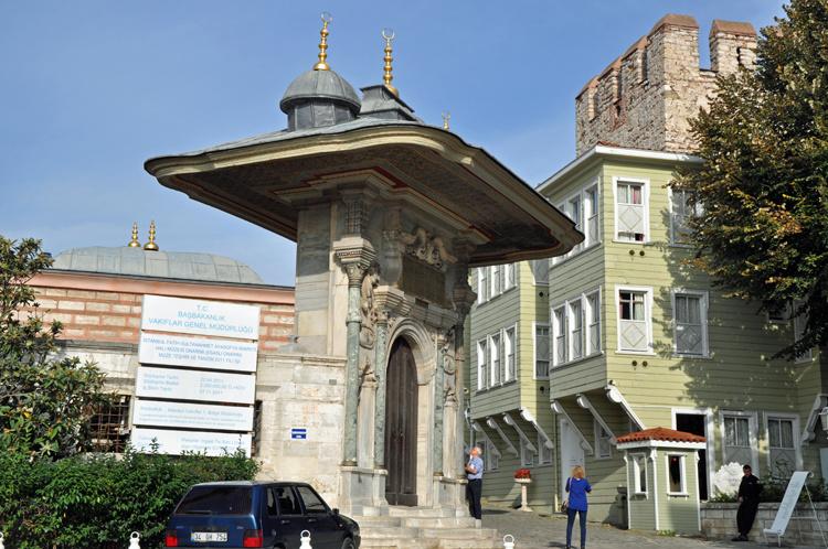 Ворота в Святую Софию для султана