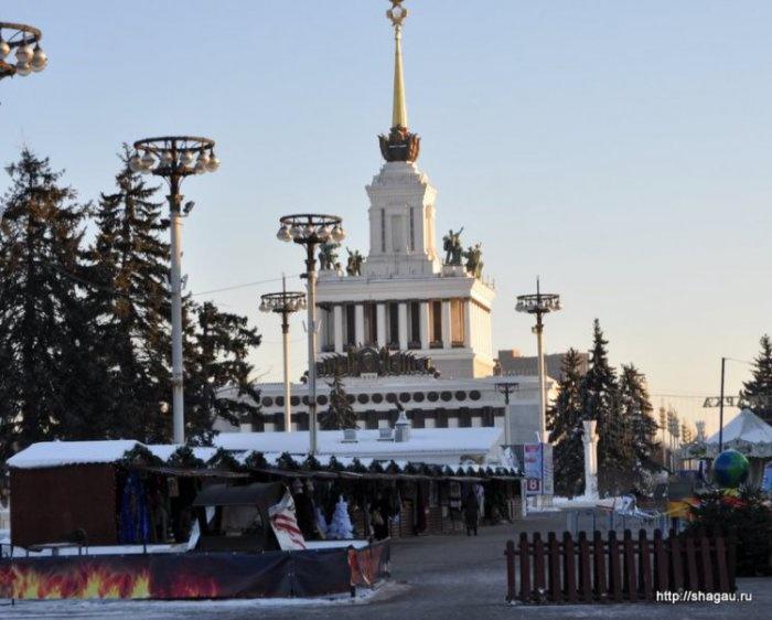 Рождественская деревня на ВВЦ