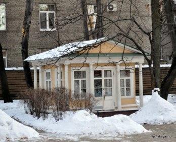 Летний флигель, Усадьба Л.Н. Толстого в Хамовниках
