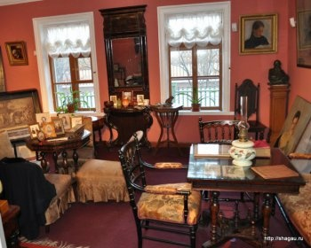 Комната дочери писателя, Усадьба Л.Н. Толстого в Хамовниках