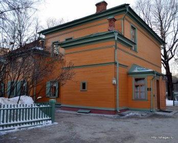 Главный дом, которому более 200 лет. Усадьба Л.Н. Толстого в Хамовниках