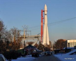 Ракета на площади Механизации