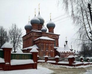Церковь на Дебри, Кострома