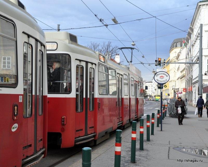 Трамваи в Вене