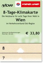 8-day Climate Ticket (Проездной на 8 дней)