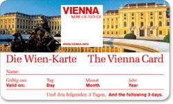 Туристическая карта Вены Wien Karte