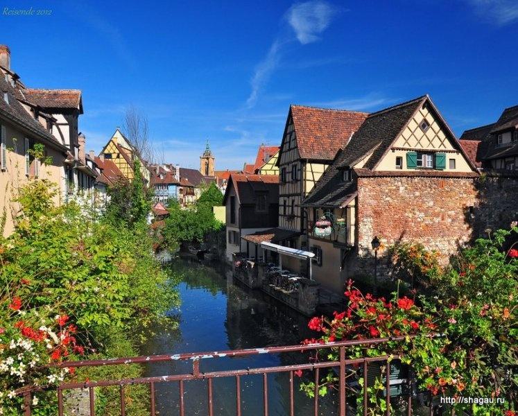 Кольмар, Colmar - самый красивый город Эльзаса, Франция фотография 1