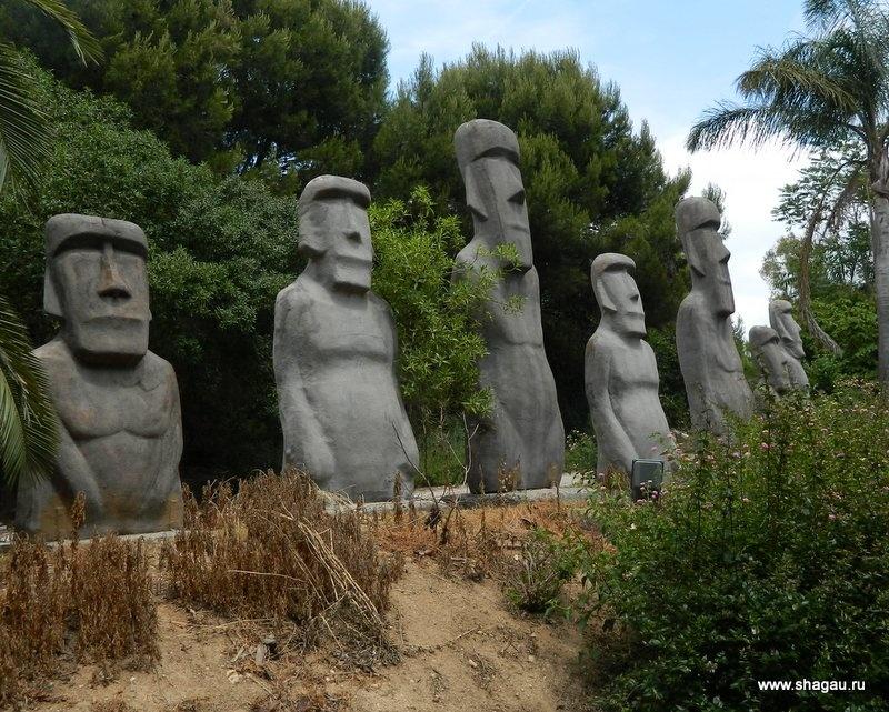 Статуи с острова Пасхи