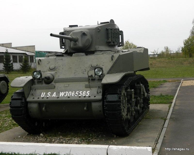"""Американский танк М5 """"Стюарт"""""""