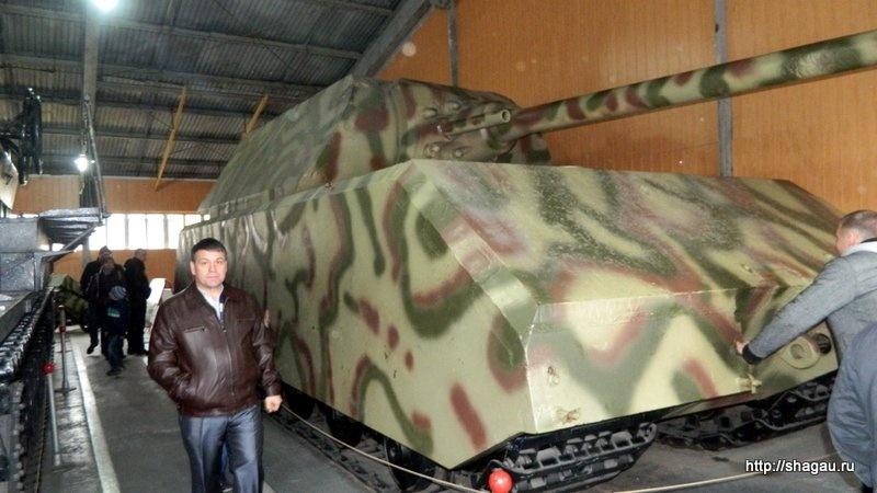 танк Мышь