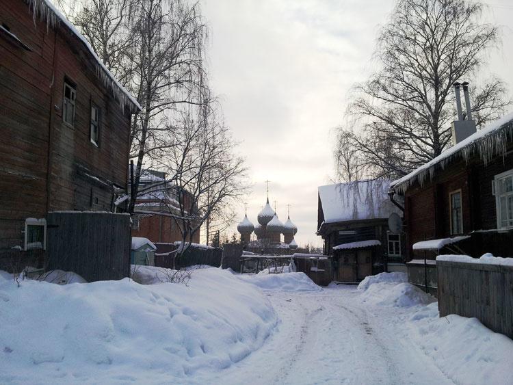 Зимняя сказка Костромы