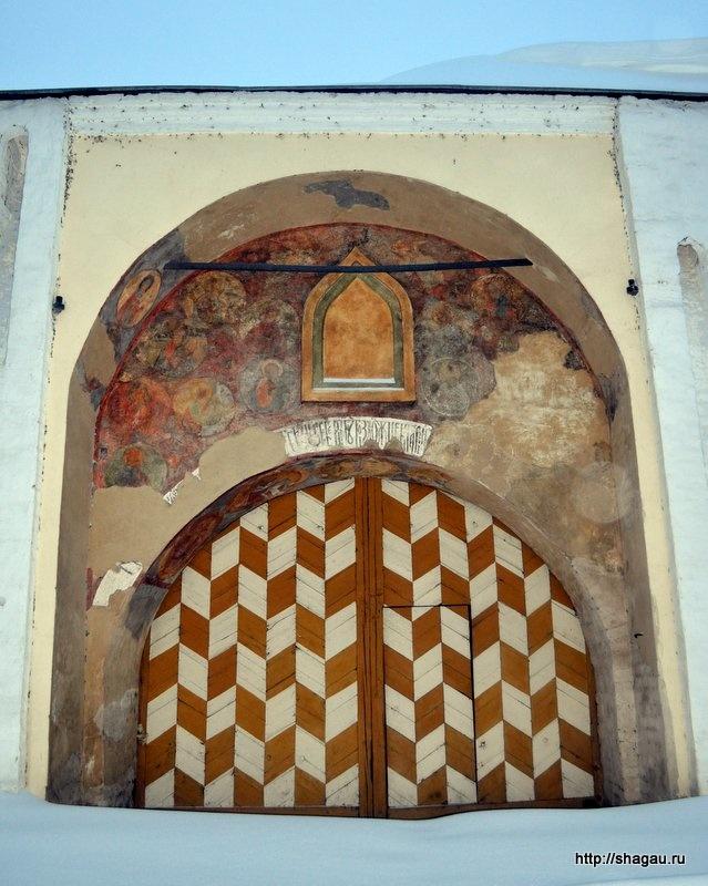Ворота Спасо-Преображенского монастыря