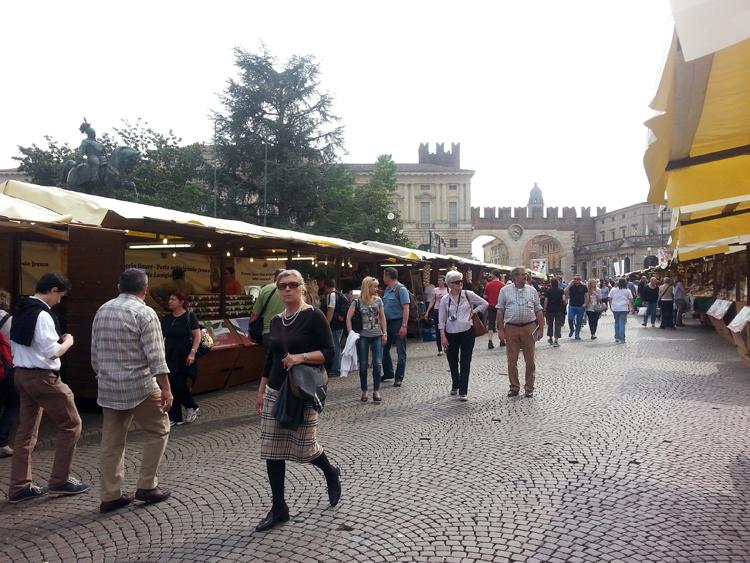 Рынок в Вероне