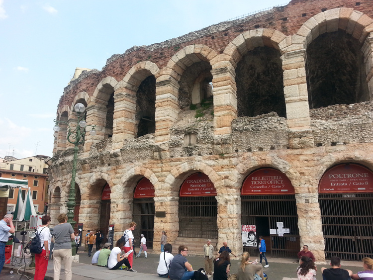 Римская Арена в Вероне