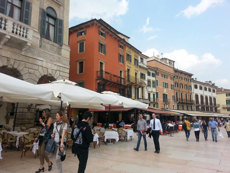 Площадь бра Верона