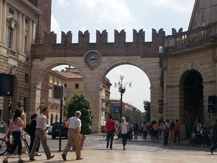 Главные ворота Вероны