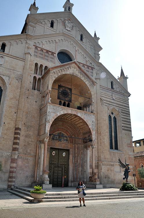 Кафедральный собор Верона Италия